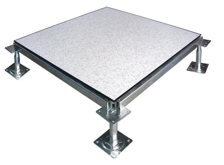 PVC面全钢防静电地板